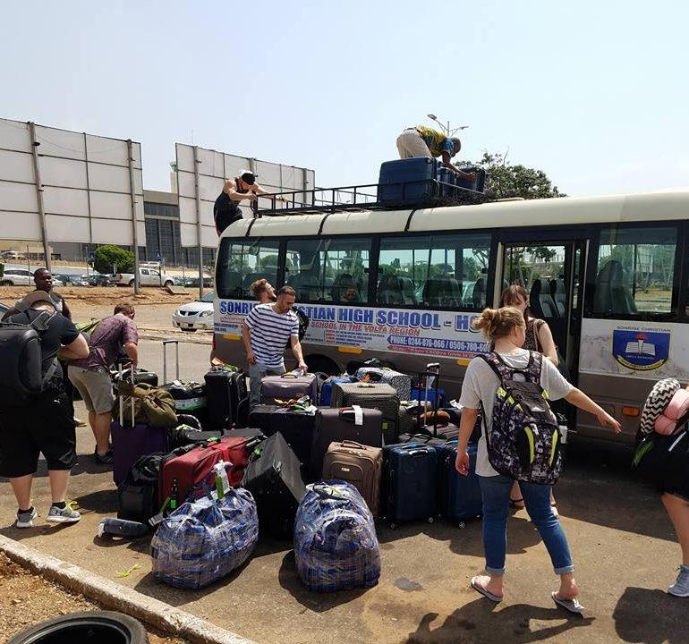 Мы прилетели в Африку…
