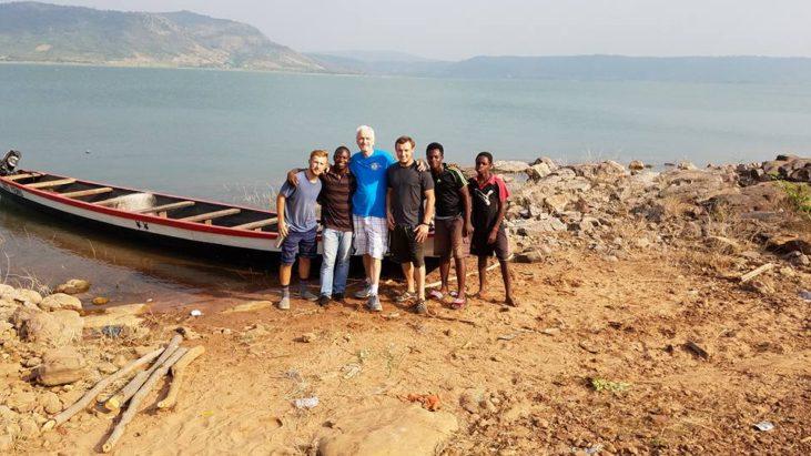 Благословенный день, Господь позволил мне с Давидом и Марком поплыть на остров Доди Айланд…
