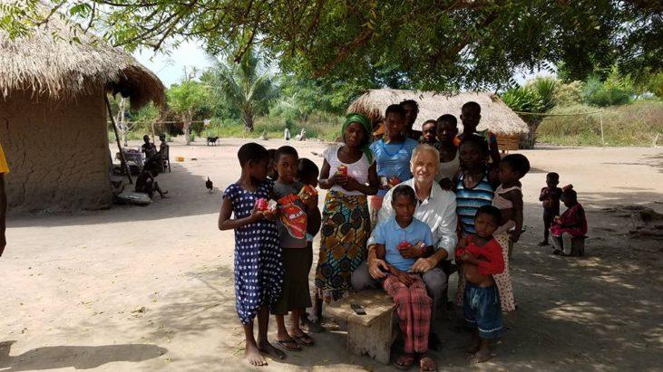 Посетили после служения деревню…