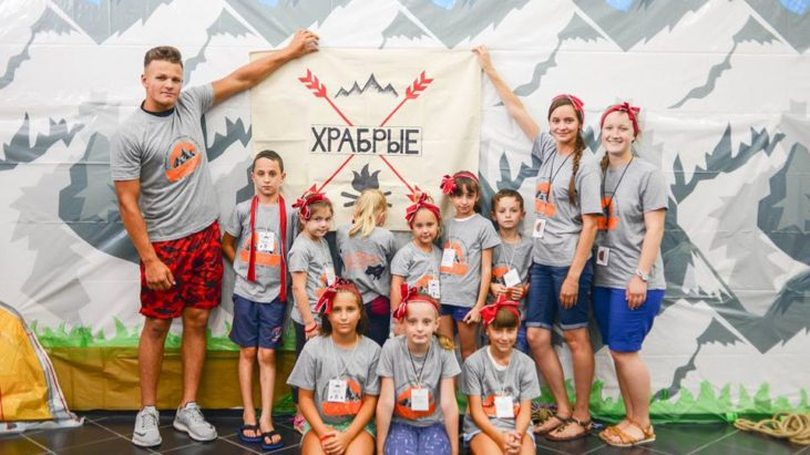 Второй день лагеря, тема гора Кармил