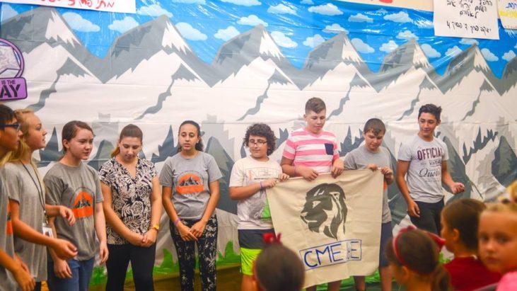 Седьмой день лагеря, гора Фавор.