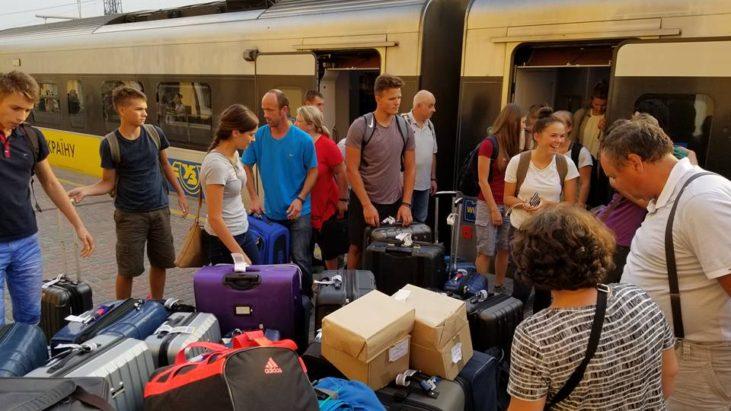 Мы приехали в Харьков Слава Господу…