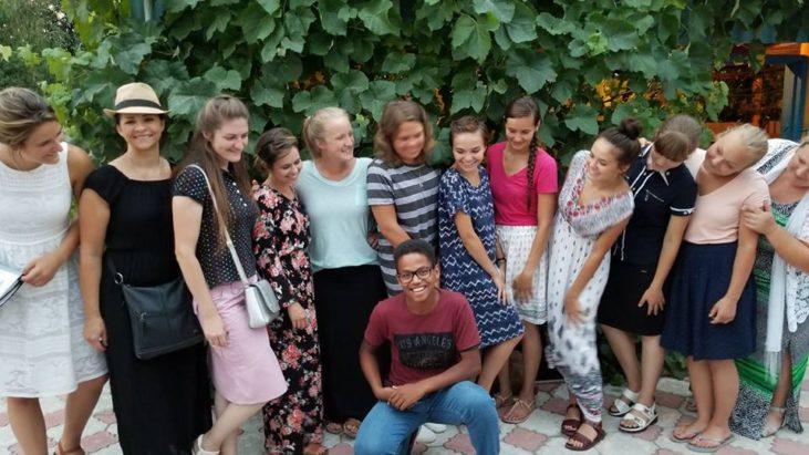 Сестры познакомились с Украинским Африканцем…
