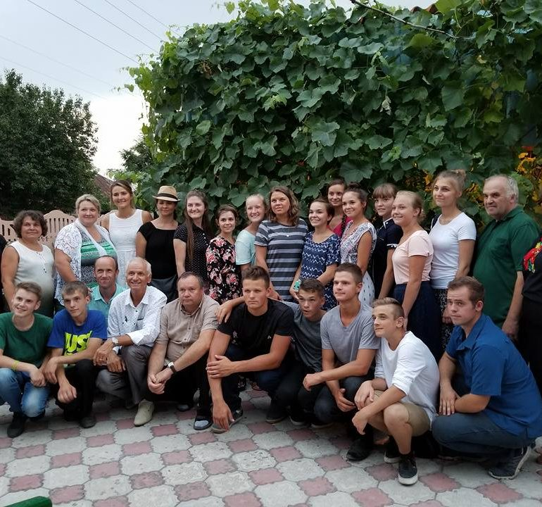 Первый день нашего служения в Харковской обл…