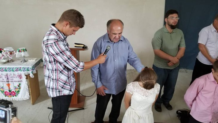 Крещение в Болаклее вторая часть