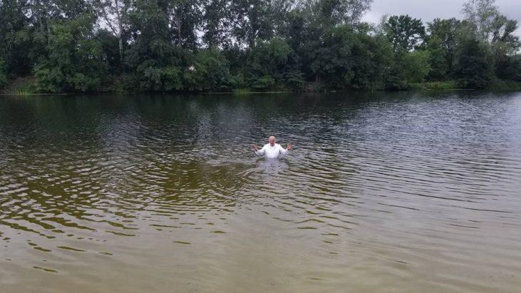 Крещение в Болаклее
