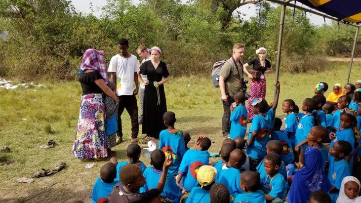 Еще один день прошел нашего служения в Африки…