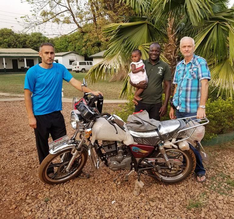 Господь позволил нам в день Рождества купить мотоцыкл