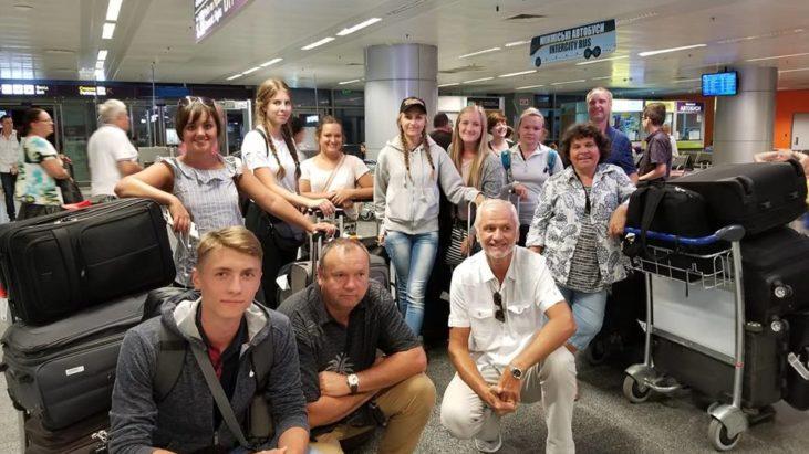 Слава Господу прилетели в Киев